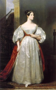 Ada Bryon, Countess of Lovelace, 1836, by Margaret Carpenter