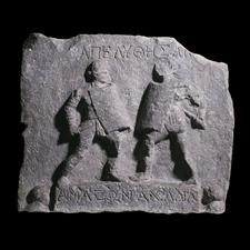 Gladiator who naked Roman faught