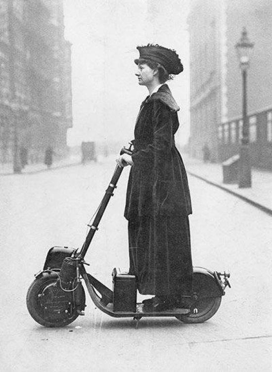 Suffragette-Scooter