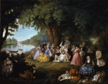 2.2.2.x-collection-detail-spencer_the_artist_and_her_family_at_a_fourth_of_july_picnic