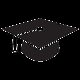 Graduation Hat Icon Chick History